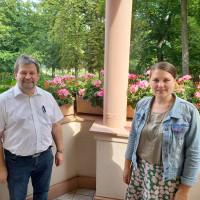 Jürgen Sommer und Dr. Carolin Wagner